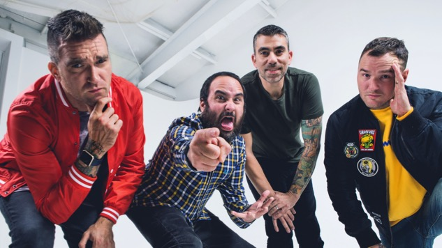 New Found Glory's Chad Gilbert on the Band's New Album, 20-Year Anniversary Tour and Playing at Pool Parties