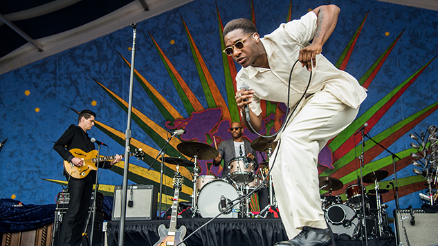 Photos: New Orleans Jazz & Heritage Festival Day One with Leon Bridges, Harry Connick Jr. and NAS