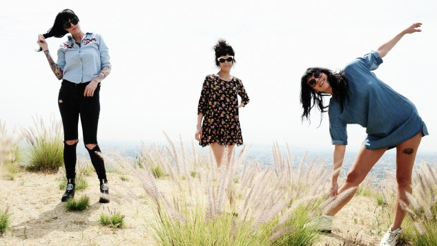 """Exclusive: The Coathangers Form a Ghoulish Cheer Squad in """"Captain's Dead"""" Video"""