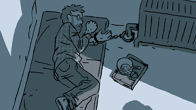 Interview: Cartoonist Guy Delisle on Crafting his Masterwork of Captivity and Freedom, <i>Hostage</I>