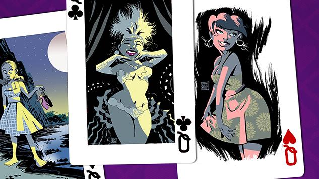 Exclusive: Alex de Campi & Victor Santos Announce Cuban Revolution Noir Graphic Novel, <i>Bad Girls</i>