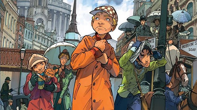 Read the First Chapter of <i>The Baker Street Four</I> by Olivier Legrand, J.B. Dijan & David Etien