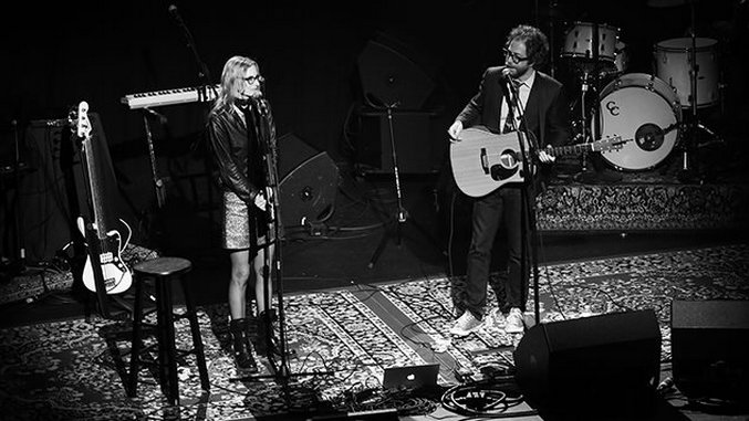 Photos: Aimee Mann & Jonathan Coulton Unite into a Folk Storytelling Superpower in Portland