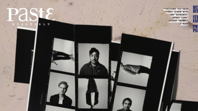 Unveiling the Cover of Paste Quarterly #2: Grizzly Bear
