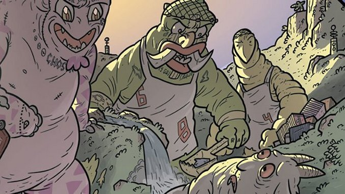 <i>Kaijumax</i> is a Heart-Wrenching, Socially Conscious Comic About Monsters In & Out of Prison