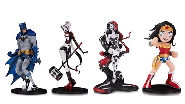San Diego Comic-Con Exclusive: These Harley Quinn and Poison Ivy Statues Are Stupid Gorgeous