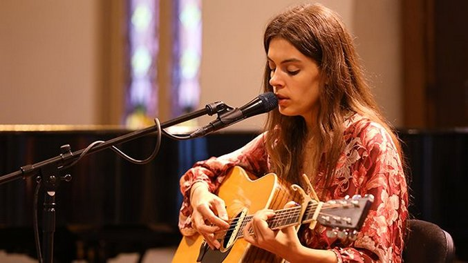 Photos: Behind the Scenes with Julie Byrne & Johanna Warren at Portland's Old Church