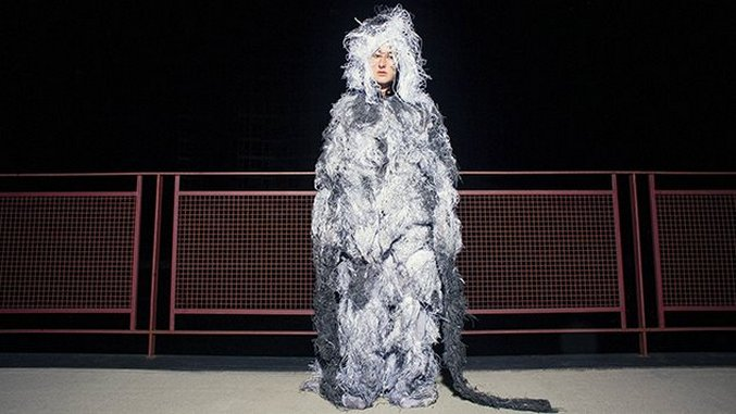 Photos: Zola Jesus Sang A Cappella at a Long Island Art Exhibition in a Fur Suit