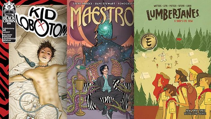 The Best Comic Book Covers of October 2017