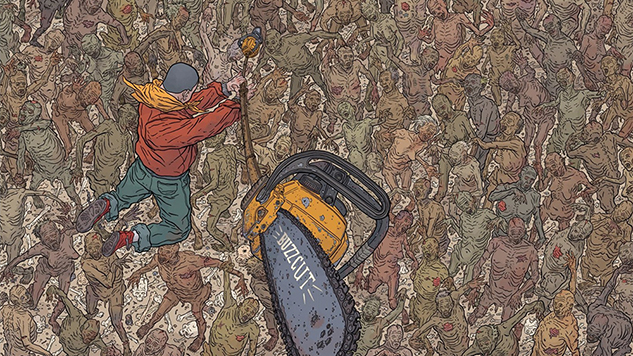 The War of Words & Pictures: Comic Pioneers Brian Michael Bendis & Geof Darrow In Conversation