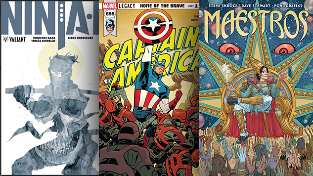 The Best Comic Book Covers of November 2017