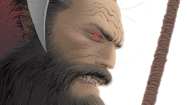 Exclusive First Look: Grant Morrison Pits Klaus Against Big Cola in <i>Crisis in Xmasville</i>