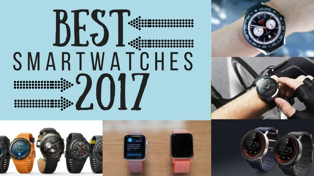 The 5 Best Smartwatches of 2017