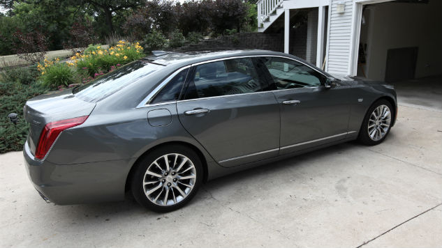 This 2017 Cadillac CT6 is the Easiest Sedan to Park Ever
