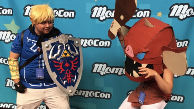 A Boy's First Con: Great Cosplay and More from Momocon