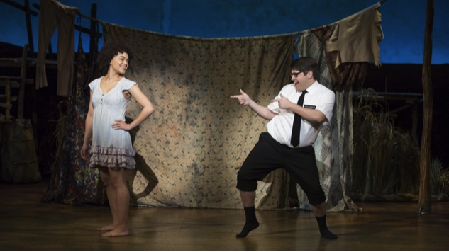 the book of mormon national tour theatre reviews the book