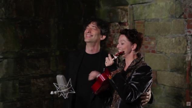 "Watch Amanda Palmer and Neil Gaiman Duet ""Makin' Whoopee"""