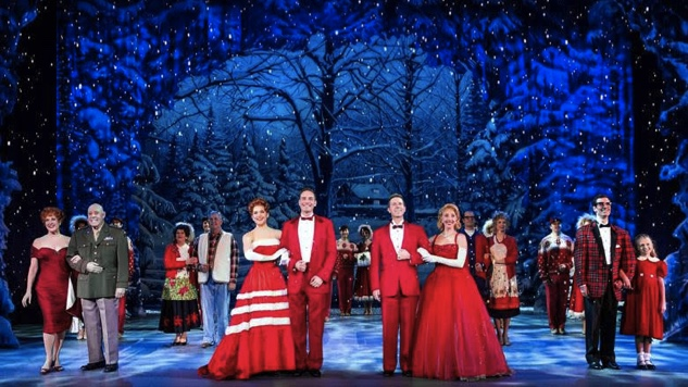 The Cast Of White Christmas.White Christmas National Tour Review Paste