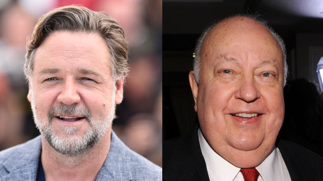 Russell Crowe Transforms into Roger Ailes for Showtime Limited Series <i>The Loudest Voice</i>