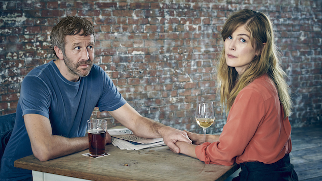 "Sundance: Nick Hornby and Chris O'Dowd on Their ""Heartbreaking"" Short-Form Series <i>State of the Union</i>"