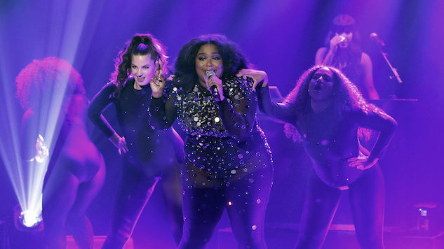 "Watch Lizzo Perform ""Juice"" on <i>Fallon</i>"