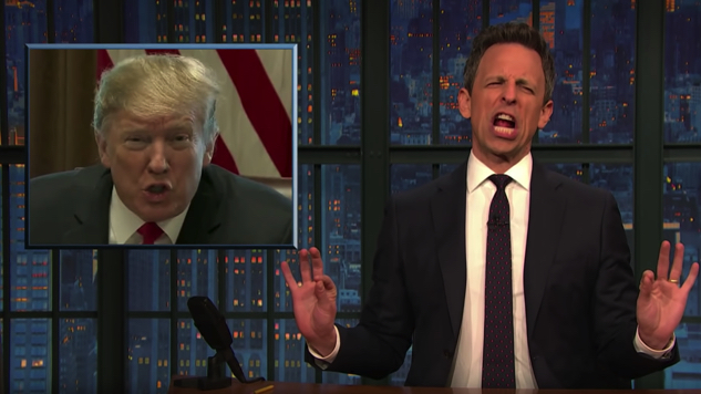 Watch Seth Meyers Have an Absolute Field Day with Trump's State of the Union Address