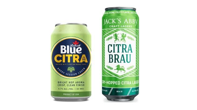 Labatt vs. Jack's Abby: A Citra Lager Taste-Off