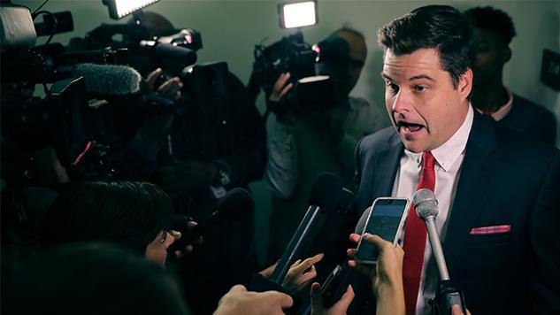 Florida Rep. Matt Gaetz Tries to Kick Parkland Parent out of Gun Violence Hearing