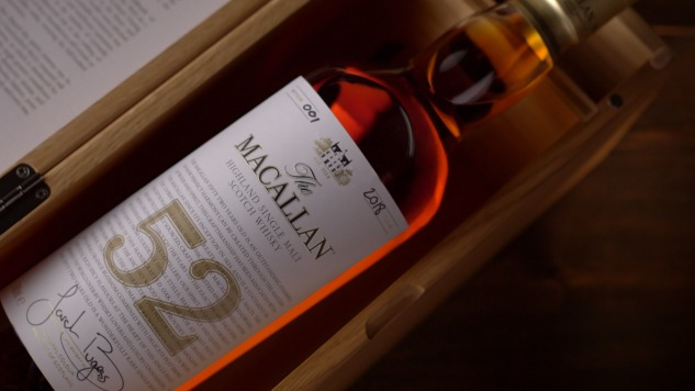 The Macallan is Launching a new 52-Year-Old Expression