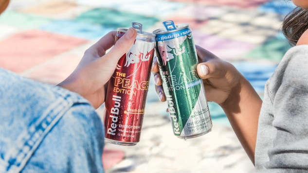 Red Bull Now Comes in Peach and Pear Flavors
