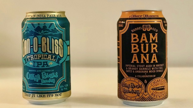 Drinking Two New Beers from Oskar Blues