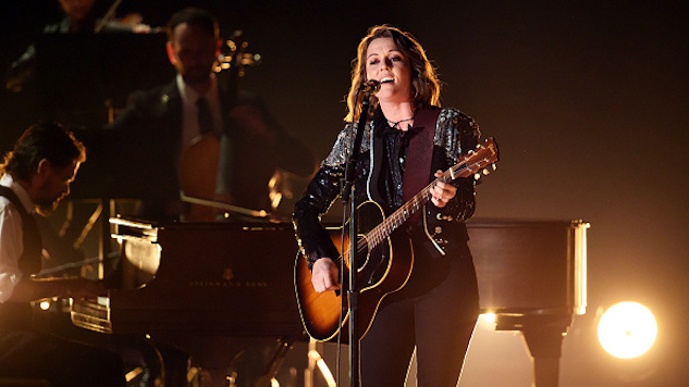 "2019 Grammys: Brandi Carlile Wins the Night With Breathtaking Performance of ""The Joke"""