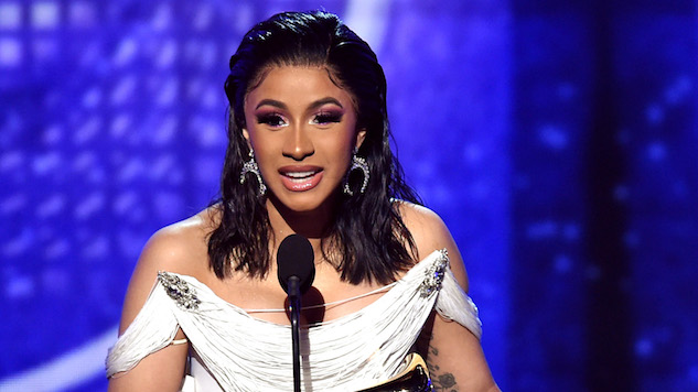 Cardi B Wins Historic Best Rap Album Grammy for <i>Invasion of Privacy</i>