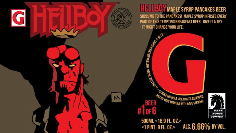 Hellboy Is Getting a Series of 6 Limited Edition Beers for His 25th Anniversary