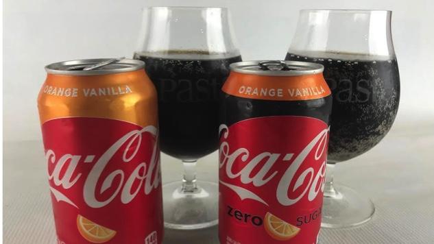 Taste Test: Orange Vanilla Coke and Orange Vanilla Coke Zero Sugar