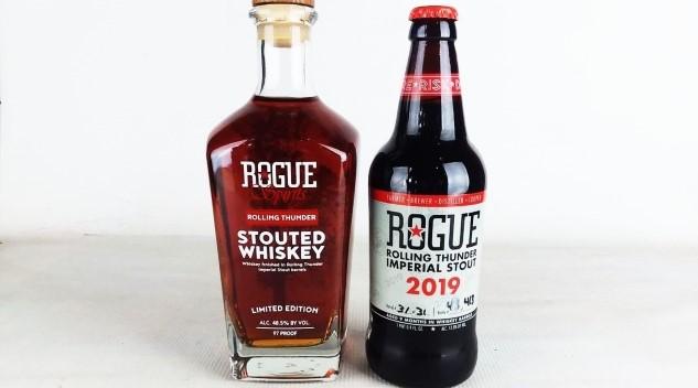 """Rogue's Whiskey Ouroboros: Whiskey Stout and """"Stouted Whiskey"""""""