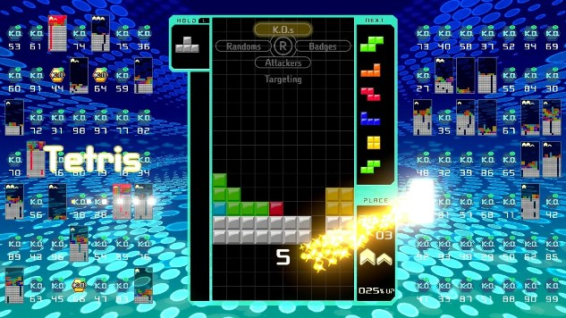 Nintendo Switch's Tetris 99 Turns Tetris into a Battle