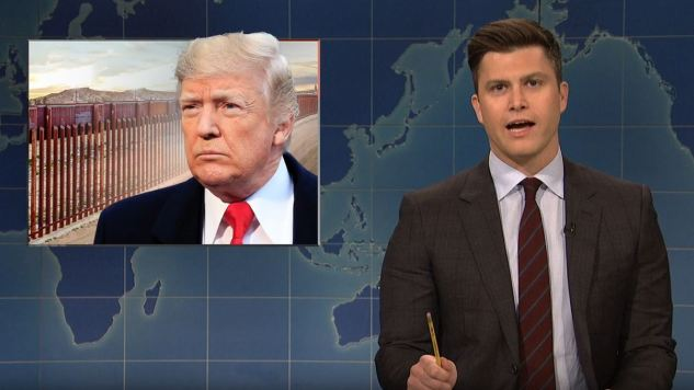 "<i>SNL</i>'s Weekend Update Says Trump Acted Like a ""Coke Addict"" at His Wall Press Conference"
