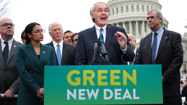 Poll: Green New Deal Draws Massive Support in Five Key Primary States