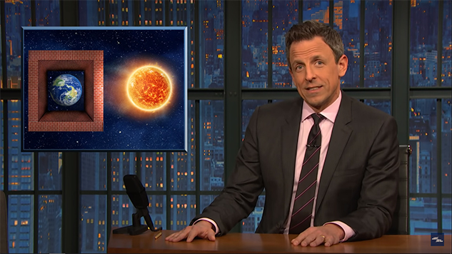 "Seth Meyers Takes a ""Closer Look"" at Climate Change"
