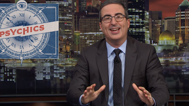 Watch John Oliver Take Down Psychics on <i>Last Week Tonight</i>