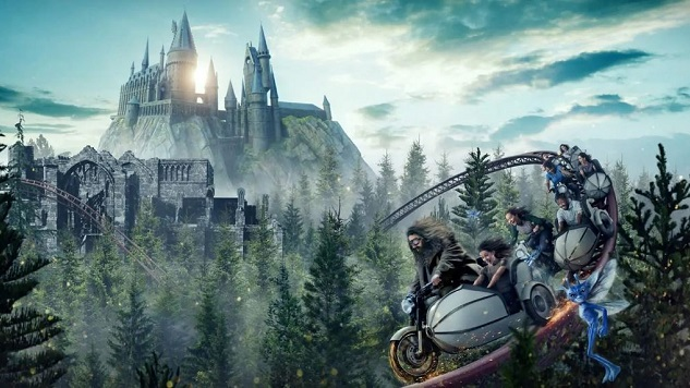 Universal Announces a New Roller Coaster for the Wizarding World of Harry Potter