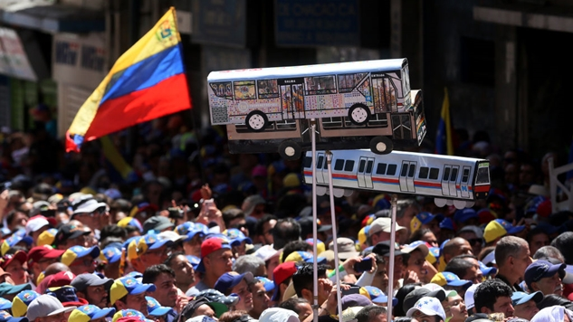 "Here's How the U.S. Could Use ""Humanitarian Aid"" To Start A War in Venezuela"
