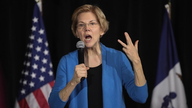 Elizabeth Warren Ups the Ante, Vows Not to Meet with Big Donors