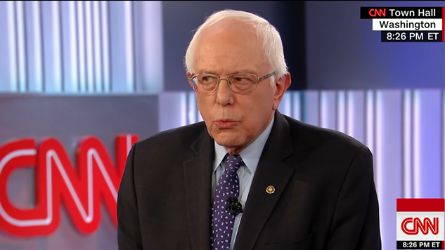 Did Cnn Stack The Aunce Against Bernie Sanders At His Town Hall