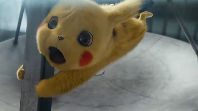Watch All Hell Break Loose in New <i>Detective Pikachu</i> Trailer
