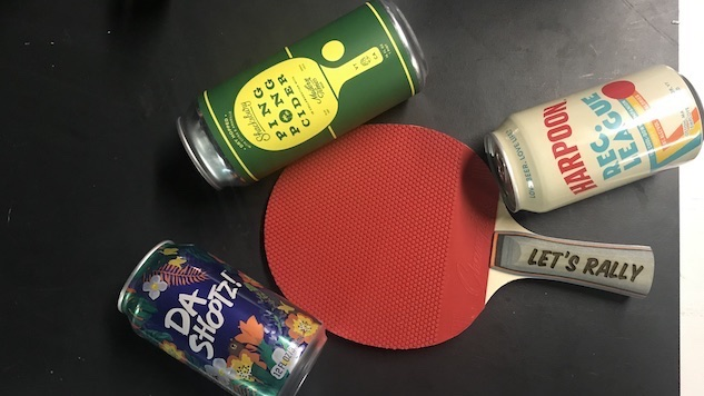 Ping Pong Beers are a Thing Now