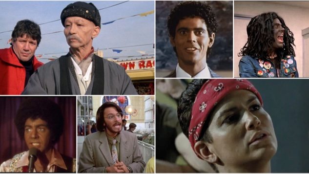 A Tour of Cinematic Blackface, Brownface and Yellowface in the 1980s