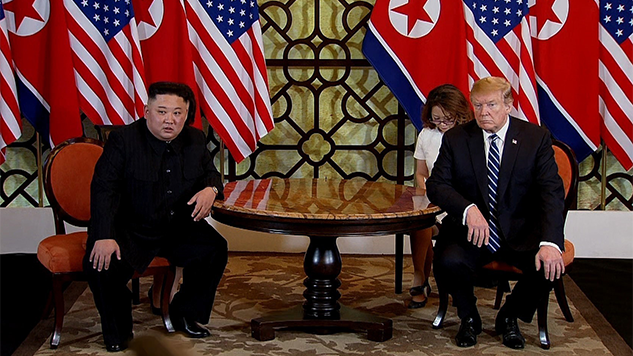 Trump Leaves North Korea Summit Without Agreement on Denuclearization