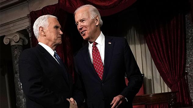 "Joe Biden Calls Homophobic Sycophant Mike Pence a ""Decent Guy"""